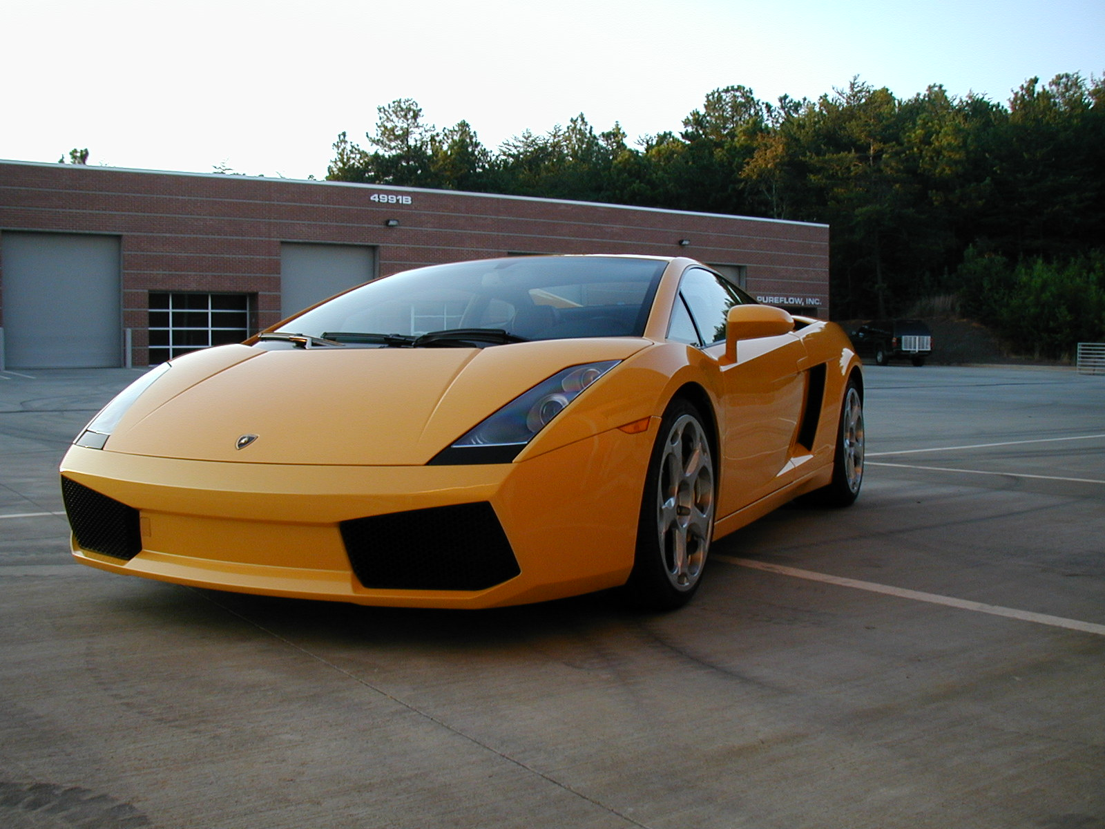 Highest mileage lamborghini