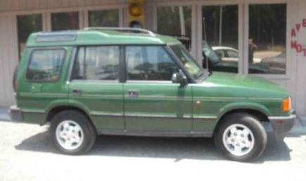 Ed's Car History: 1995 Land Rover Discovery – Ed Bolian