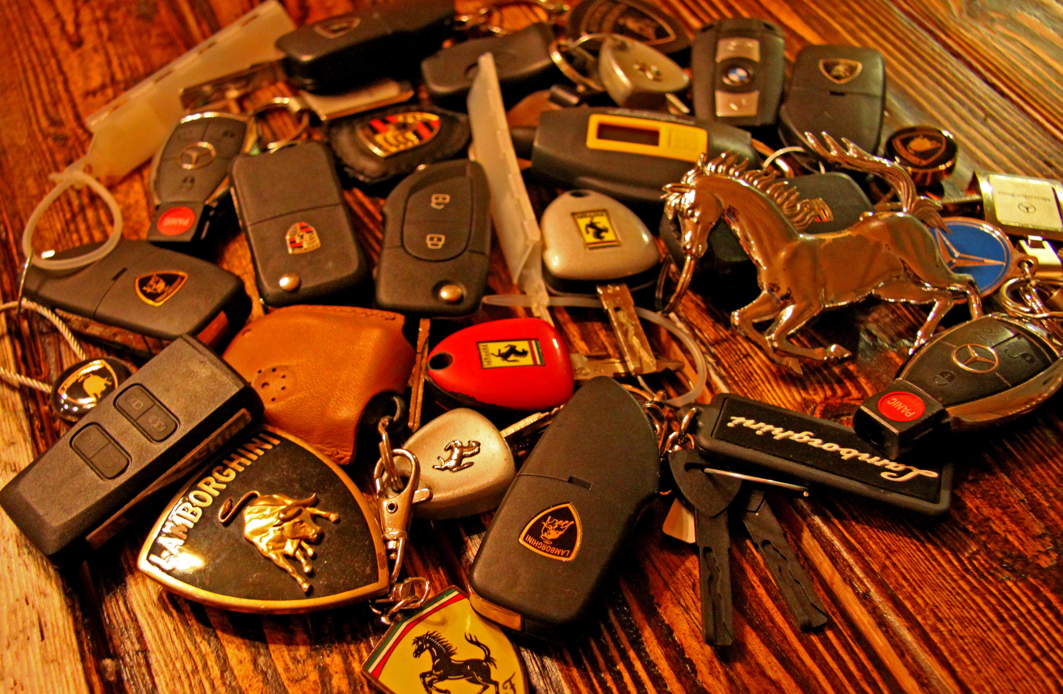 Exotic Car Keys Ed Bolian