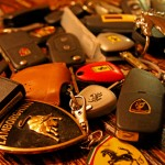 Handfull of Exotic Car Keys