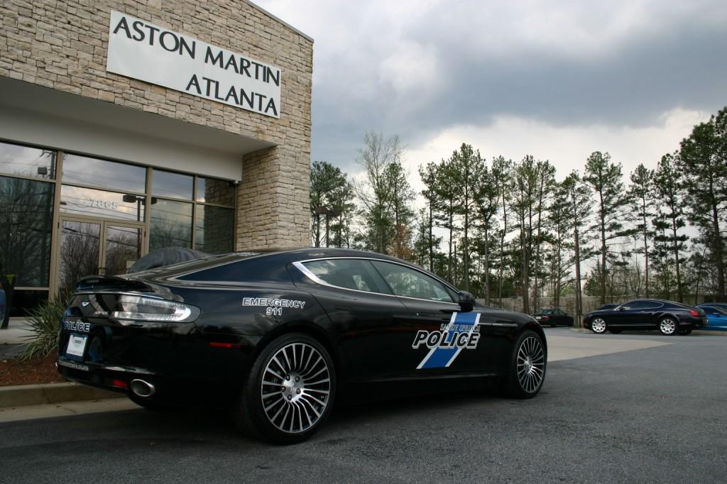Rapide Police Car In Atlanta SpeedOnline Porsche Forum And - Aston martin atlanta