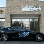 Atlanta Aston Martin Police Car