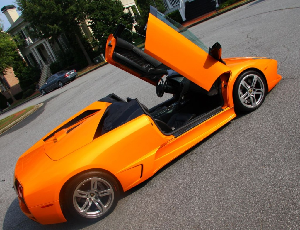 Pearl Orange Lamborghini