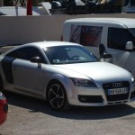 Audi TT trying to be an R8