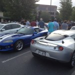 Dodge Viper GTS and Titanium Lotos Evora