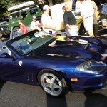 Blue Ferrari 550 Barchetta