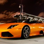 Orange LP640 Roadster