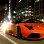 Lamborghini at Night