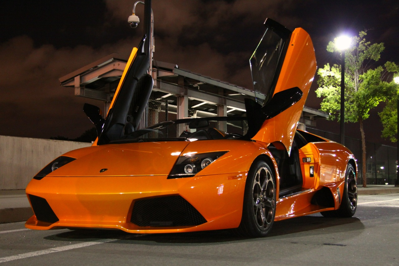 Lamborghini Murcielago Roadster in Orange