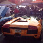 Orange Lamborghini Murcielago LP640 Roadster