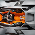 Lamborghini Egoista Cockpit