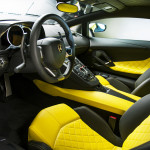 50th Anniversary Lamborghini Aventador Interior