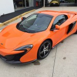 McLaren 650S Spider in Tarocco Orange
