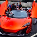 The first 2015 McLaren 650S registered in Georgia
