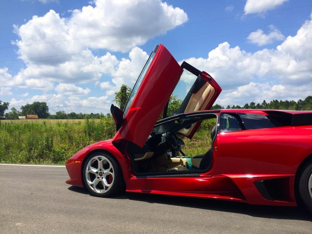 Rosso Vik Lamborghini Murcielago LP640 Coupe