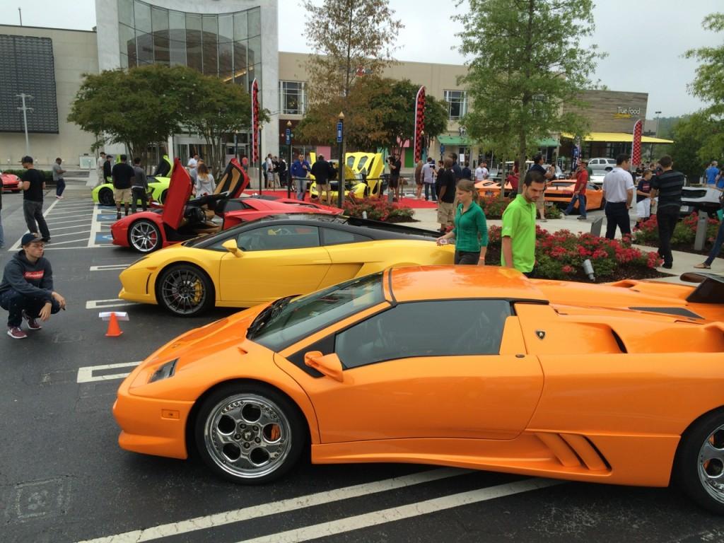 Pearl Orange 1999 Lamborghini Diablo Roadster