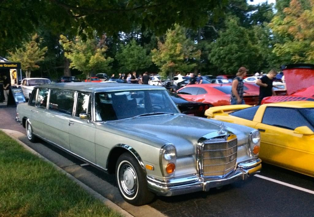 Vintage Mercedes Limo
