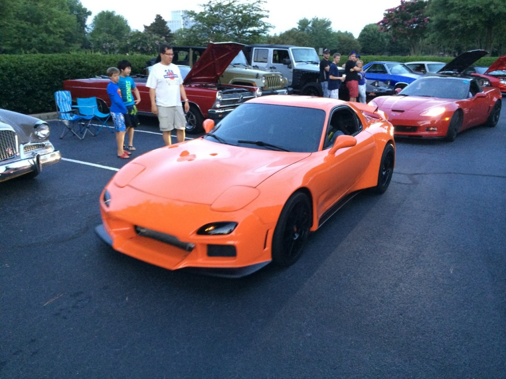 Mazda RX7 with LS1 V8 Swap