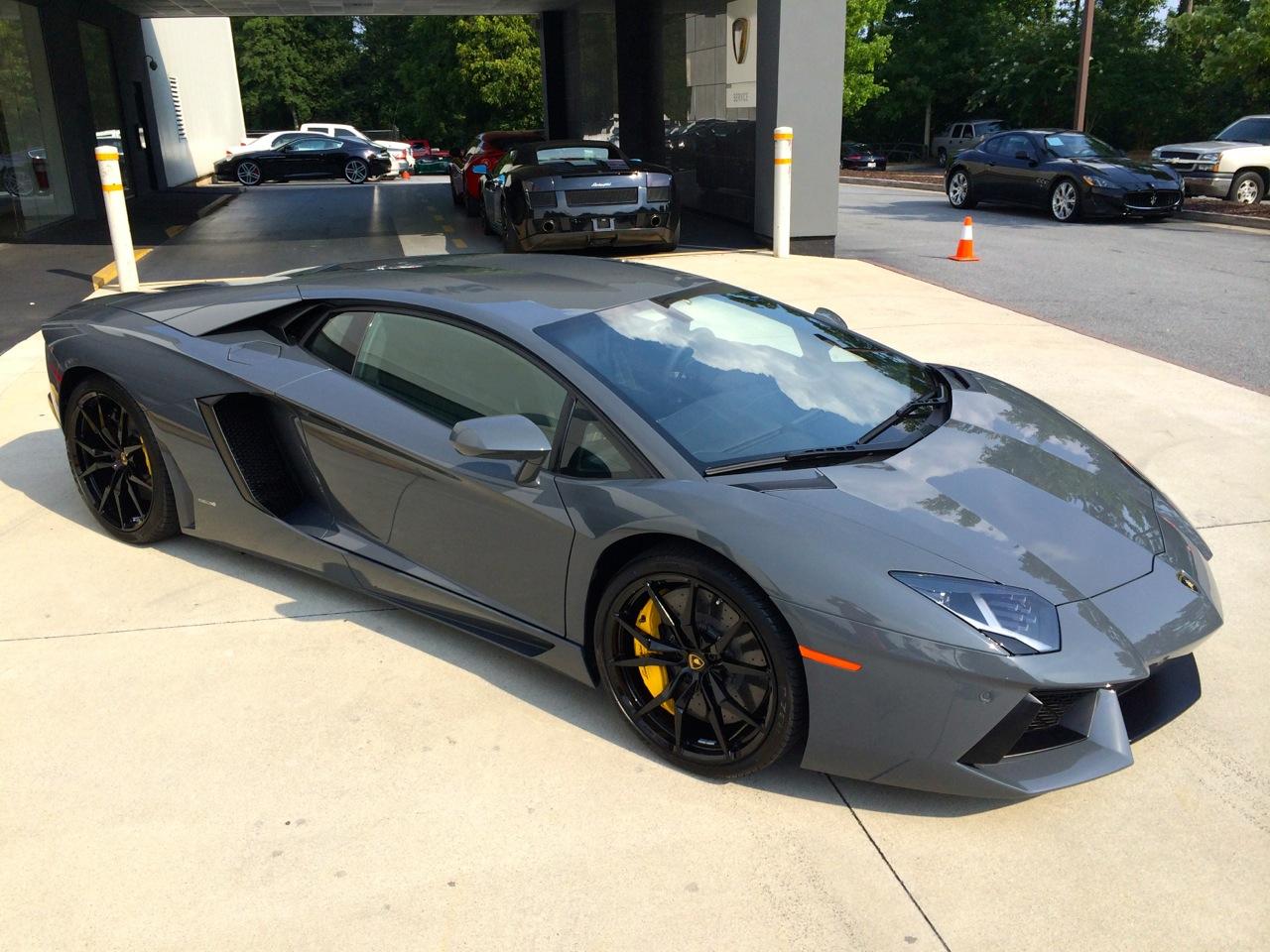 Lamborghini Matte Black Paint Code