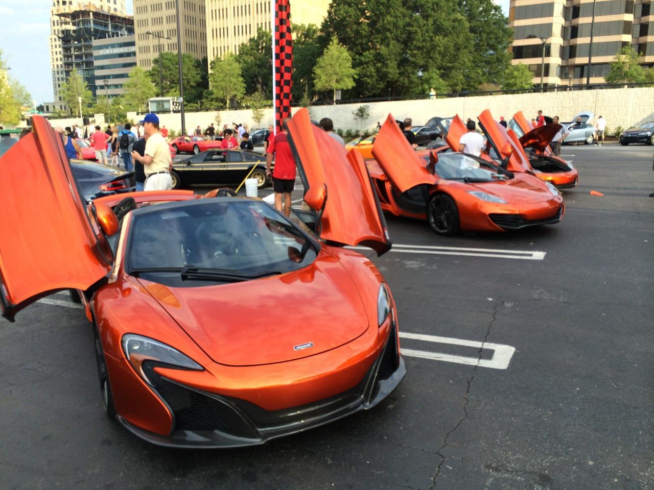 McLaren Volcano Orange