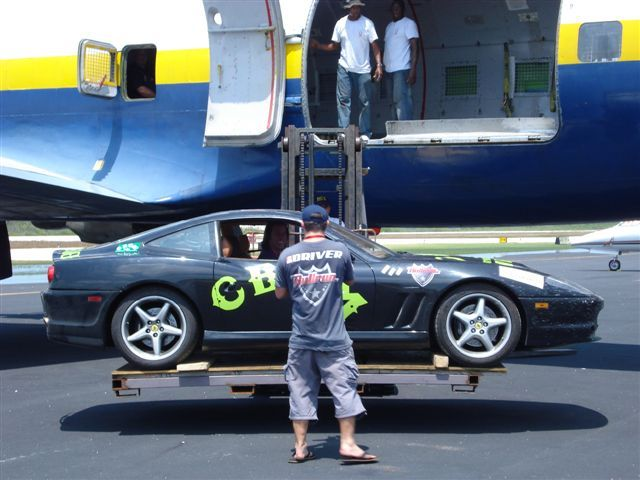 Rawlings Collins World Record Ferrari 550 Maranello