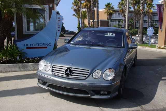 Ed Bolian New York to Los Angeles Record 2004 Mercedes CL55 AMG