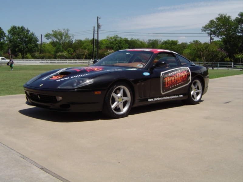 Richard Rawlings Cannonball Run RawlingsCollinsFerrari550
