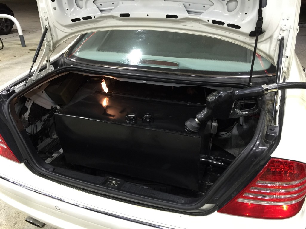 Mercedes Benz S55 AMG Endurance Fuel Cell