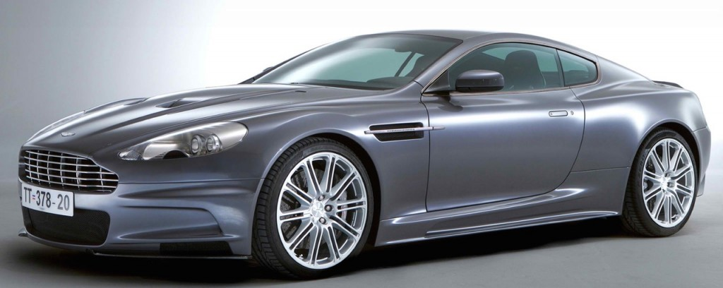Casino Royale Gray Aston Martin DBS