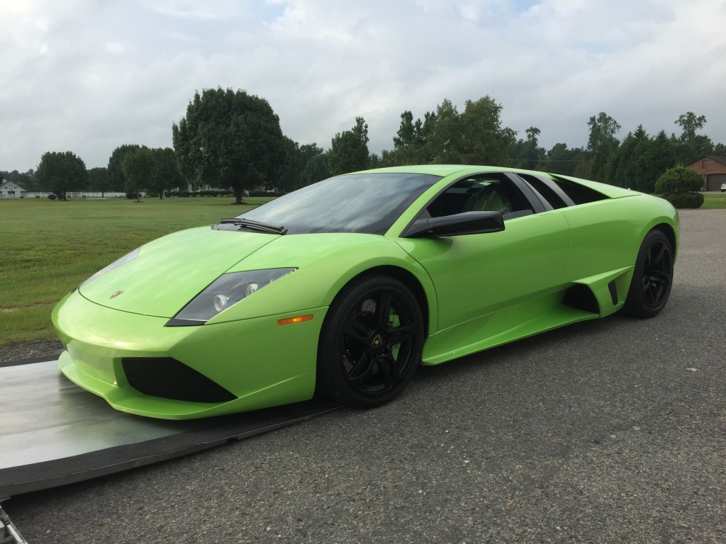 Verde Ithaca Lamborghini Murcielago LP640