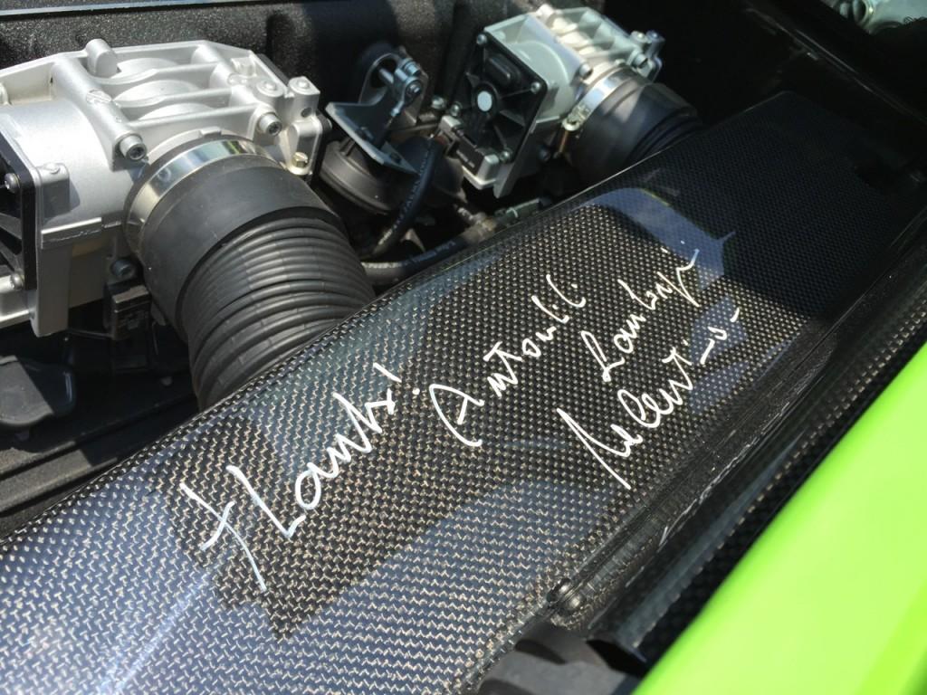 Valentino Balboni Signature