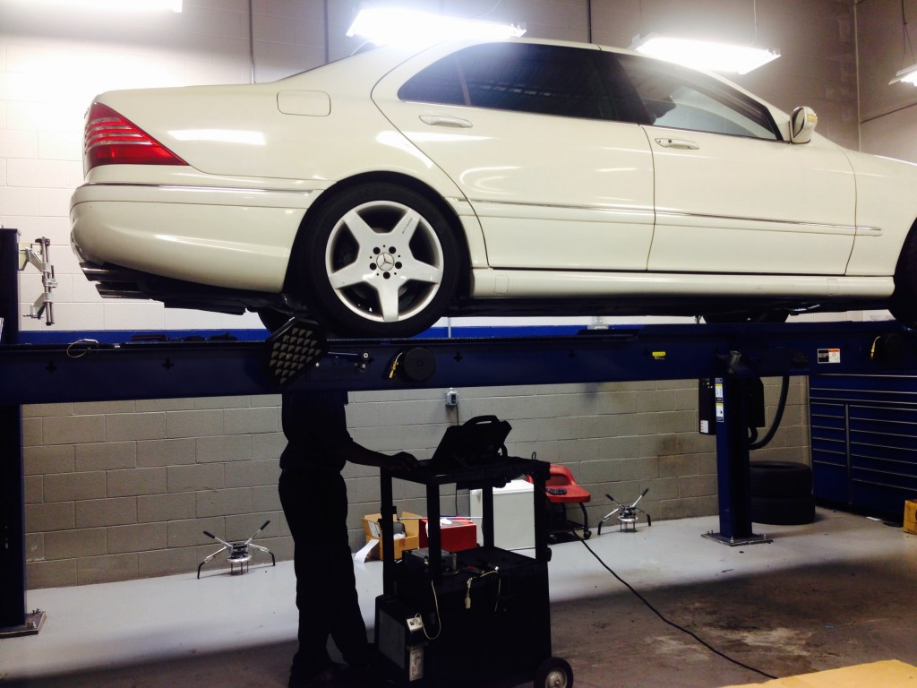 Mercedes Active Body Control Suspension Calibration