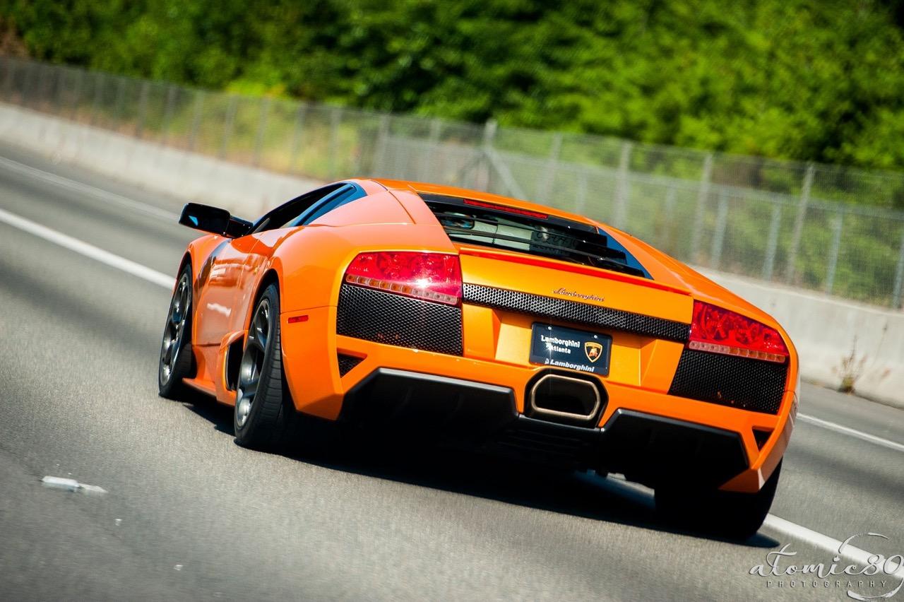 2007 Manual Transmission Arancio Atlas Lamborghini