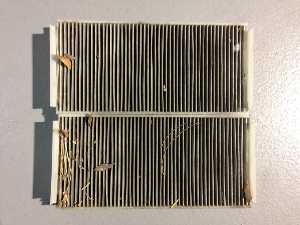 2002 Mercedes S55 AMG Cabin Filters Dirty