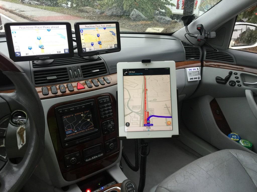 Ed Bolian Mercedes S55 Cockpit
