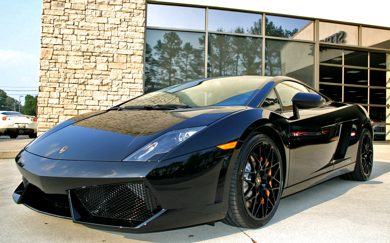 2012 Lamborghini Gallardo LP550 2 Black Edition