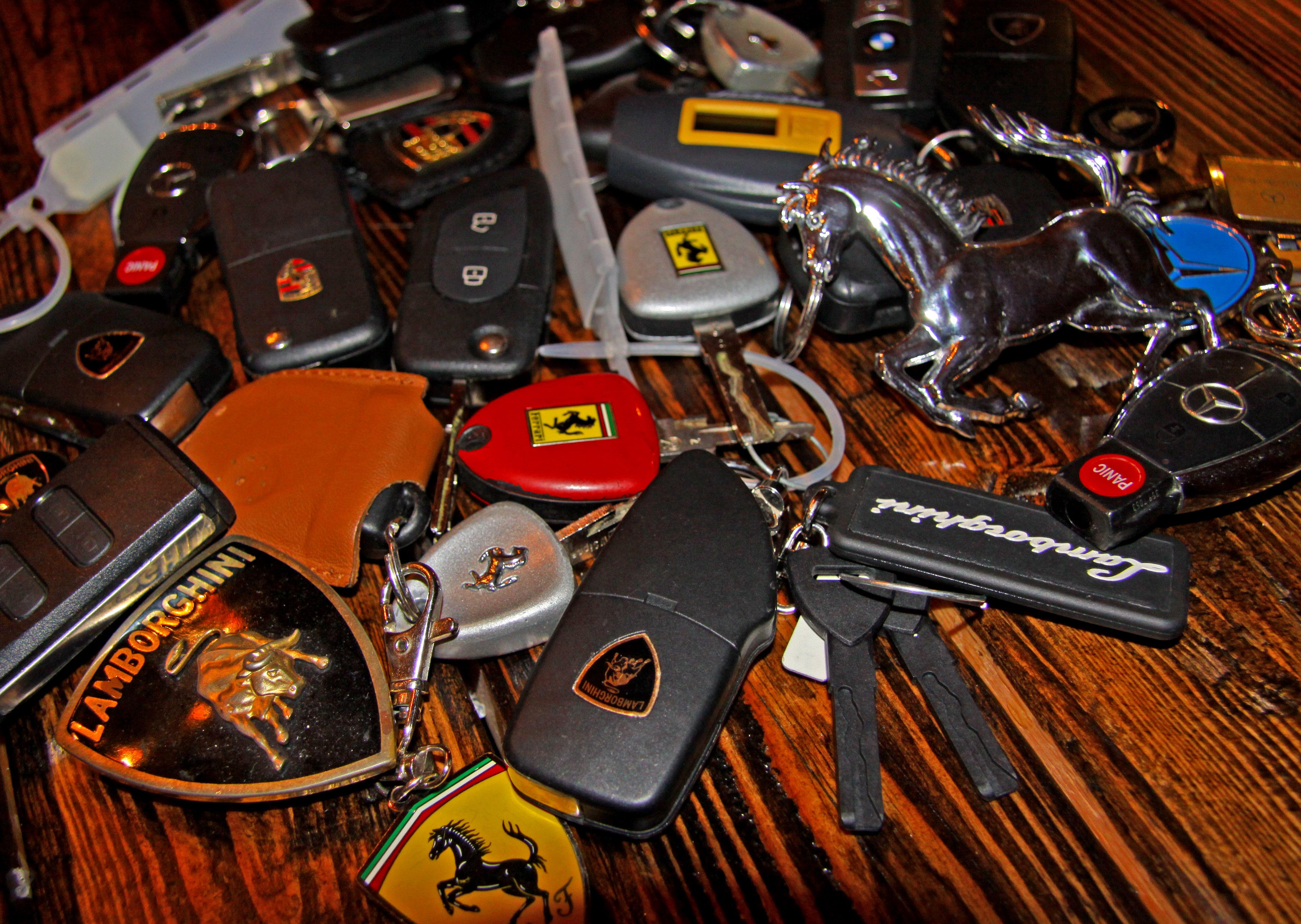 Ferrari Lamborghini Keys