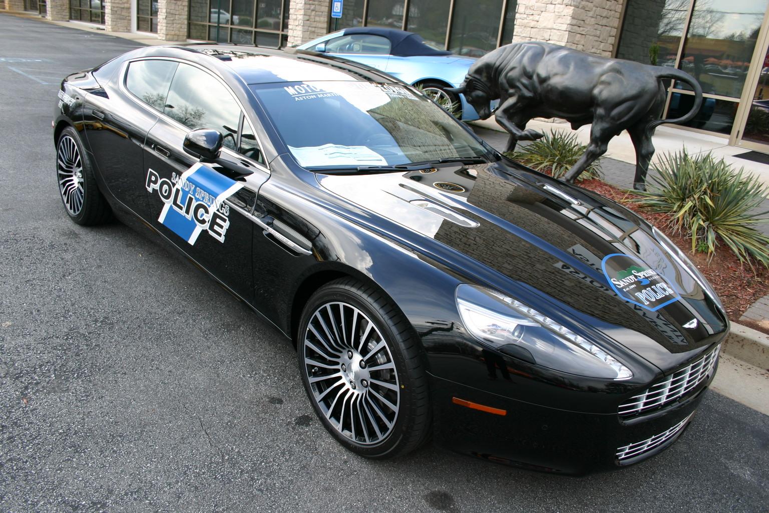 Look Out Atlanta Heres An Aston Martin Rapide Police Car Ed Bolian - Aston martin atlanta
