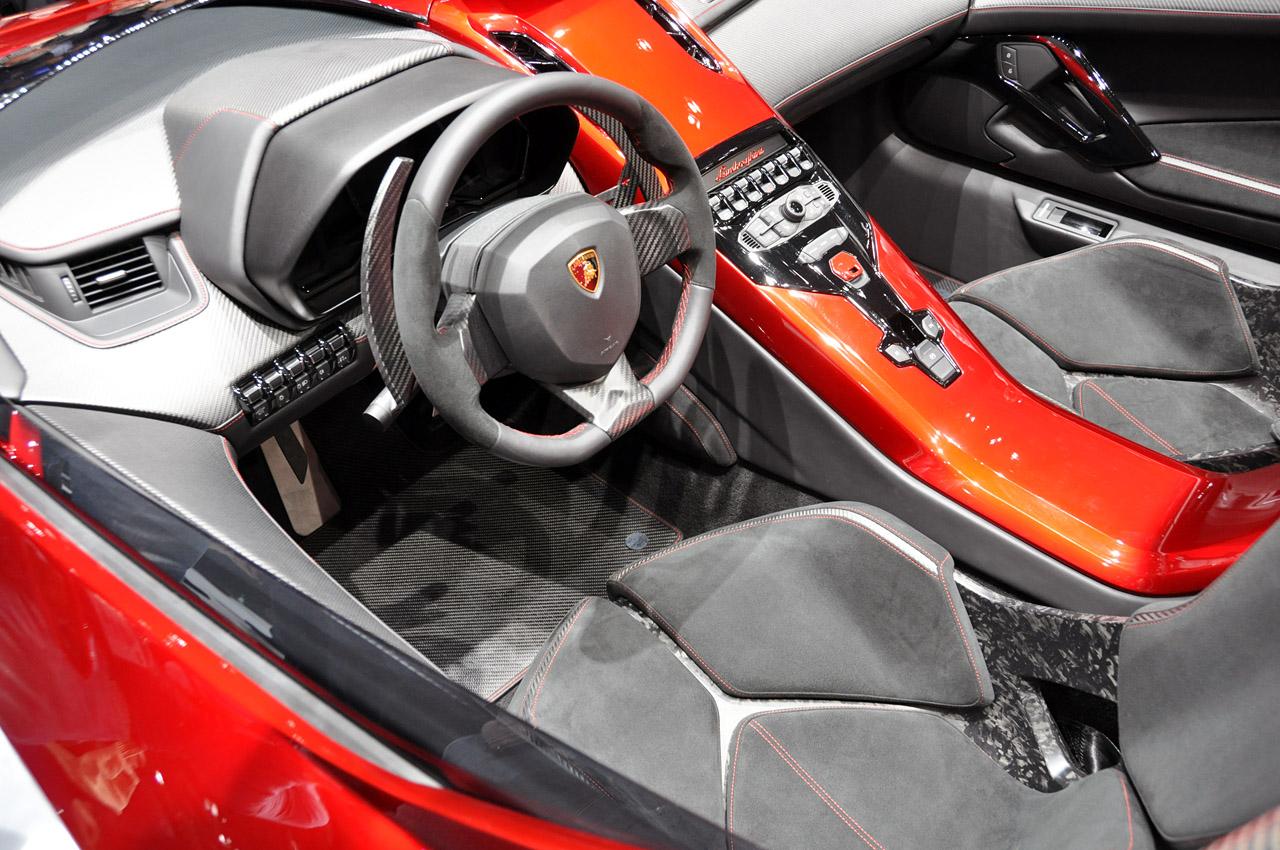 Lamborghini Aventador J Interior Ed Bolian
