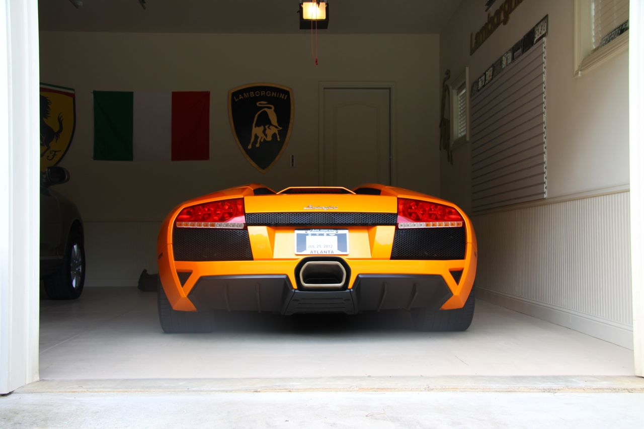 LP640 in Garage