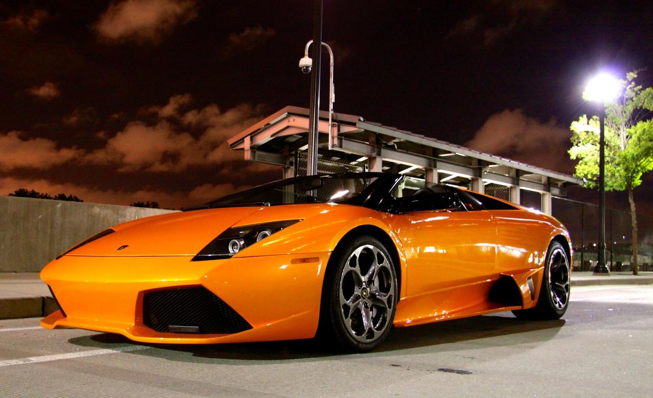 Orange LP640 Roadster
