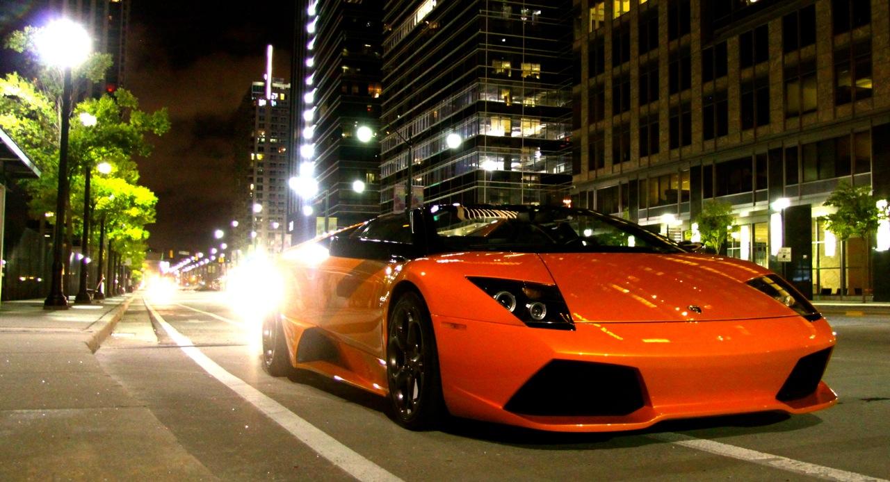 Lamborghini at Night