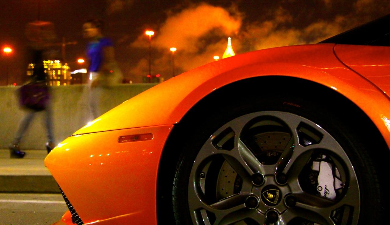 Lamborghini Murcielago Night Shoot