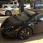 Nero Noctis Lamborghini Gallardo LP550-2 Coupe