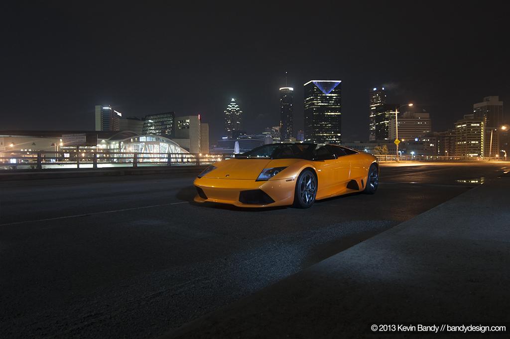 Lamborghini Skyline Shot