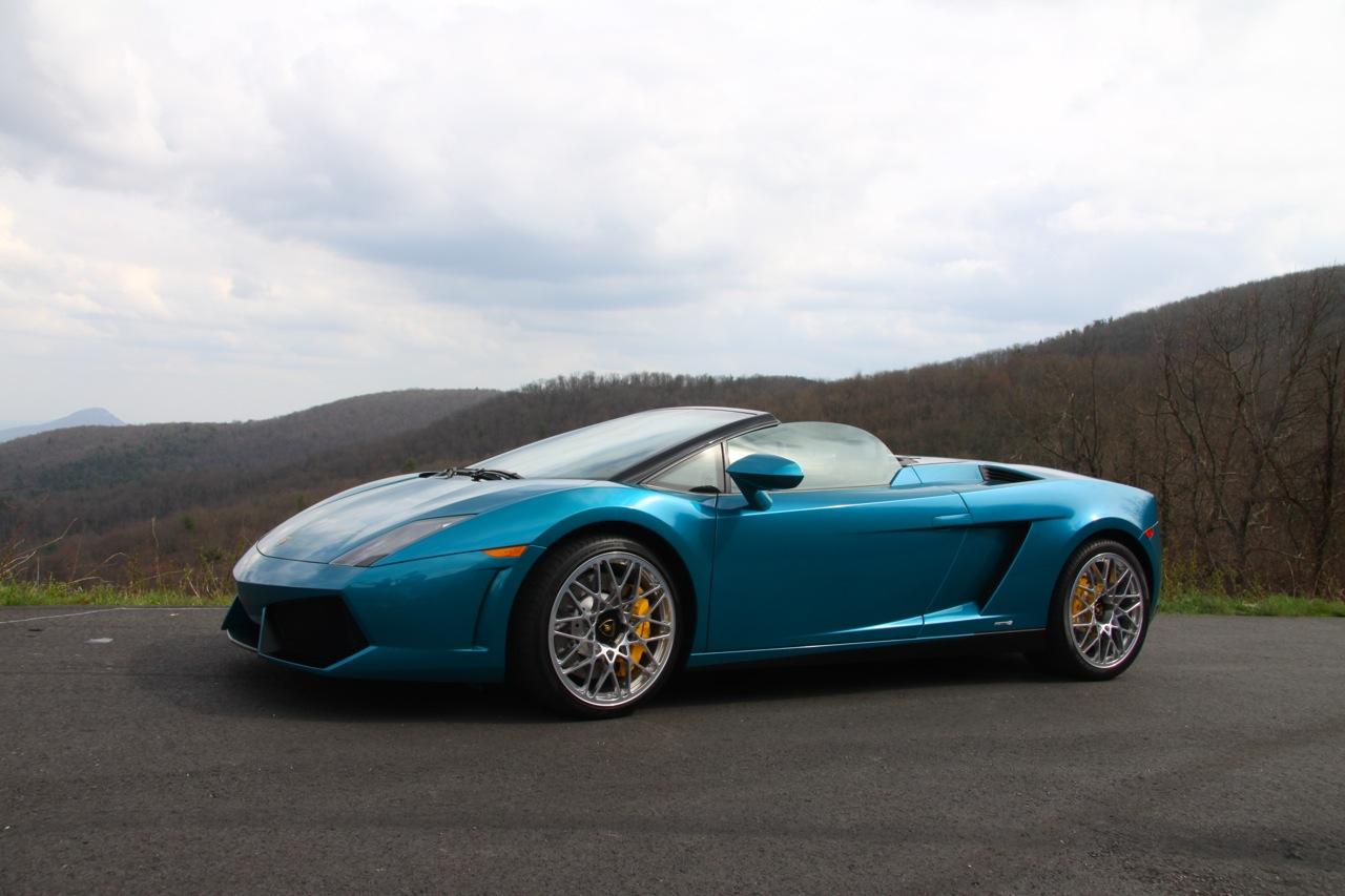 Verde Artemis Lamborghini Gallardo Spyder Ed Bolian